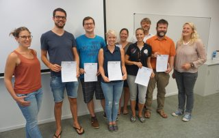 Controlling-Zertifikate HOFA Heidelberg 2017