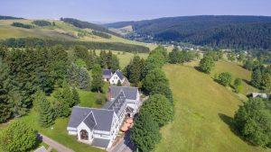 Flair & Berghotel Talblick aus der Adlerperspektive