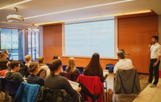 eagleControl an der Hotelfachschule Heidelberg 2018