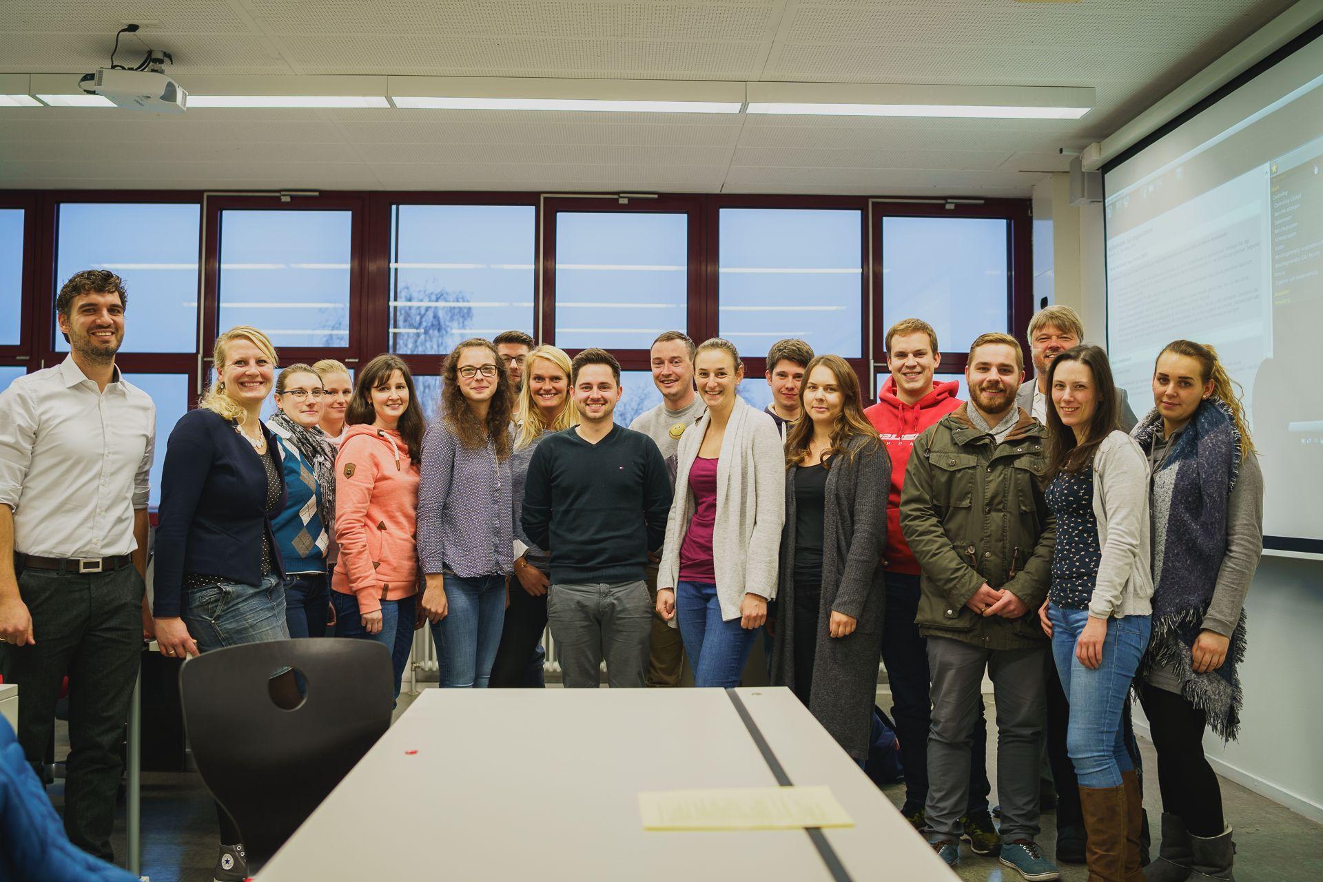Praxisgruppe Hotelfachschule Heidelberg