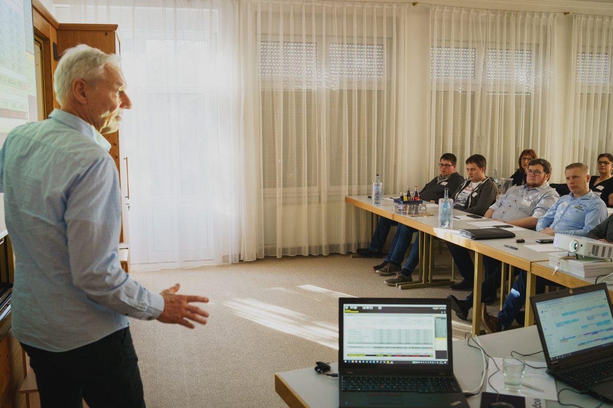 Willi Nusser beim Flair-Benchmark mit eagleControl