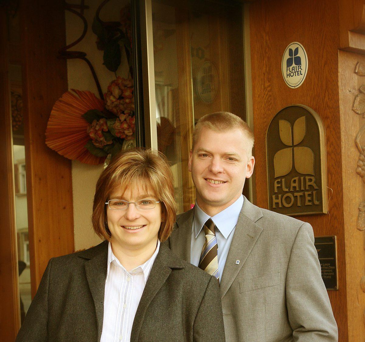 Familie Heimberger vom Flair Hotel Weinstube Lochner