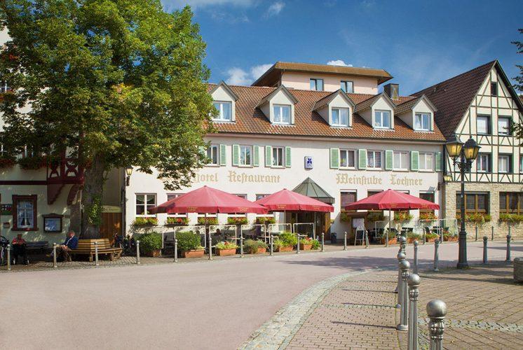 Flair Hotel Weinstube Lochner Außenansicht