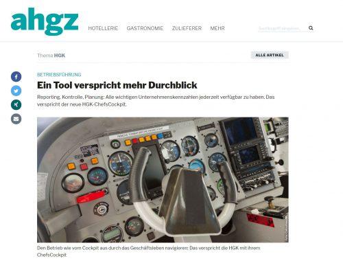 Eagle Control in Kooperation mit der HGK – das HGK ChefsCockpit schafft Überblick